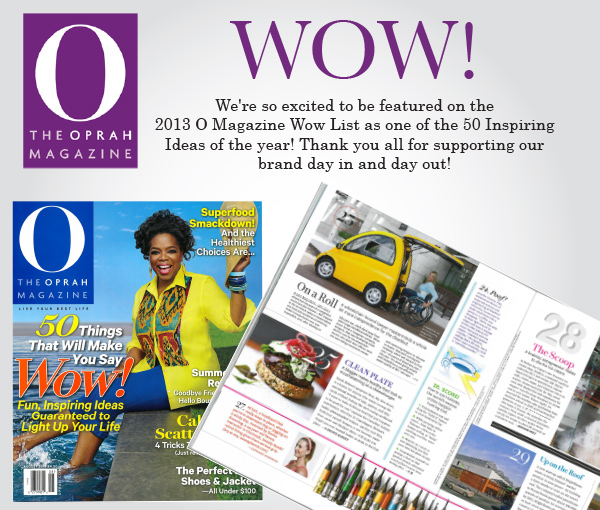 O Magazine WOW! List